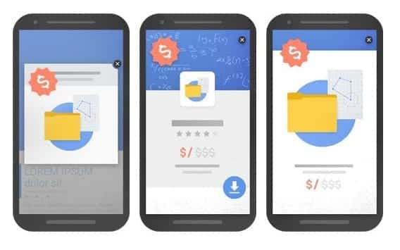 Google traque les interstitiels intrusifs